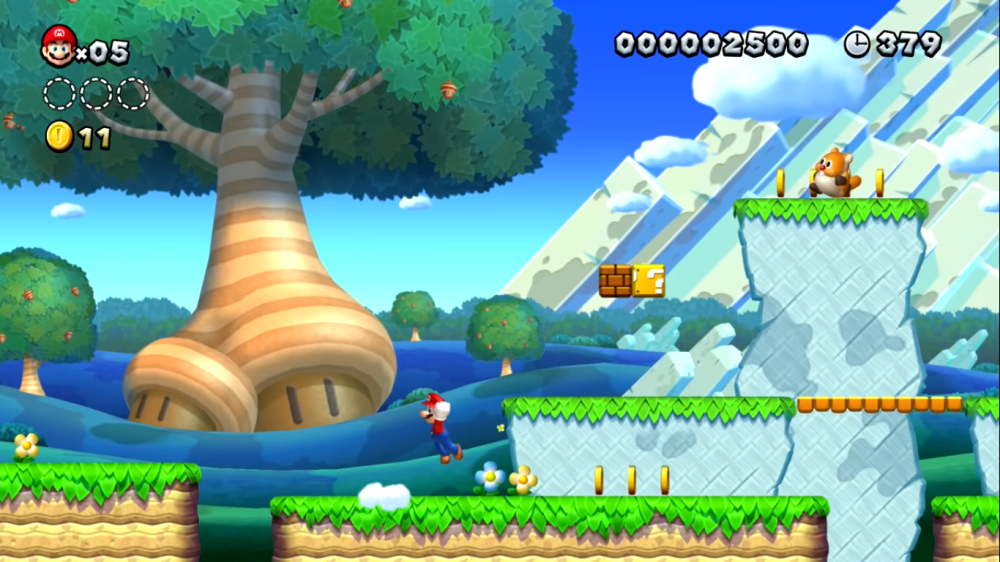 New Super Mario Bros. U Deluxe ingame