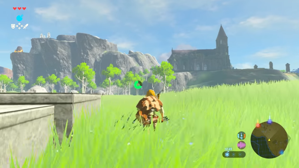 Zelda - Breath of the Wild ingame