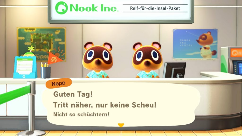 Animal Crossing: New Horizons Es geht los