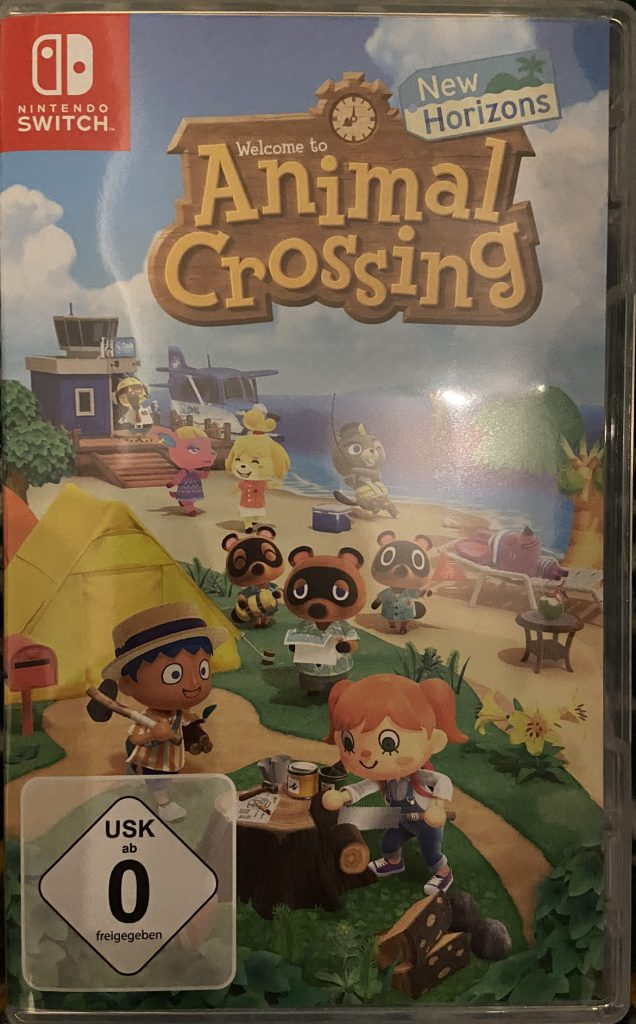 Animal Crossing: New Horizons Verpackung